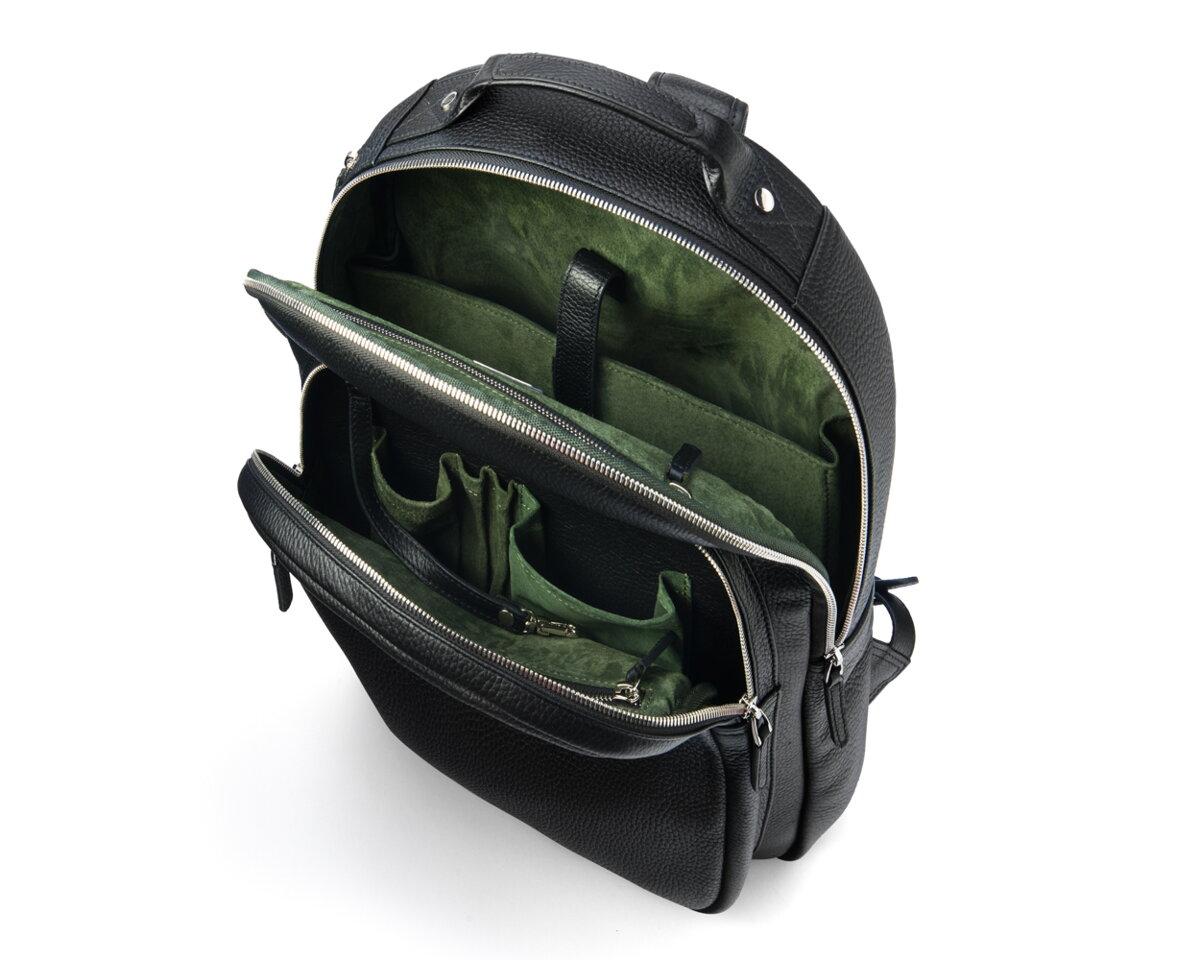 adac11a8e0 Veľkolepý kožený a praktický ruksak na Váš Notebook