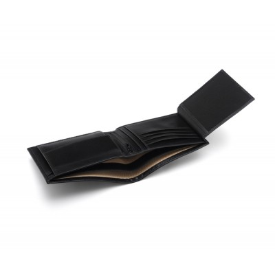 Black Essential Billfold Wallet
