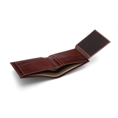 Brown Essential Billfold Wallet