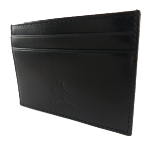 Black Flat Credit Card Wallet