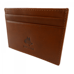 Havana Tan Flat Credit Card Wallet