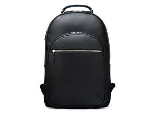 Black Full Grain Cambridge Backpack